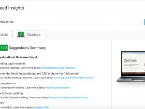 optimus-google-pagespeed-insights-100-score